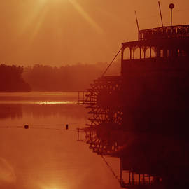 148223 Mississippi River Sternwheeler  Ga by Ed Cooper Photography