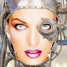 15 Milla Jovovich Steampunk Cyborg Portait