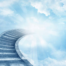 Stairway to heaven - Les Cunliffe