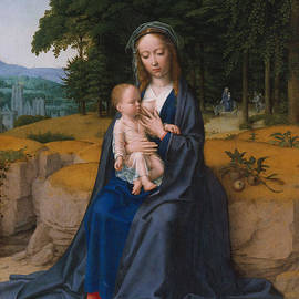 Gerard David - The Rest on the Flight into Egypt