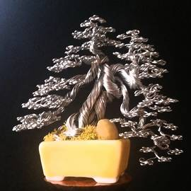 Ricks Tree Art - #158 Dragon Tree wire tree sculpture