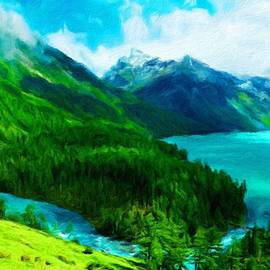 Margaret J Rocha - Nature Landscape Oil Painting On Canvas
