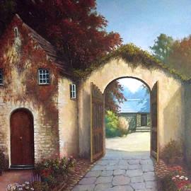 Sean Conlon - 16th Century Gatehouse at Ballymaloe