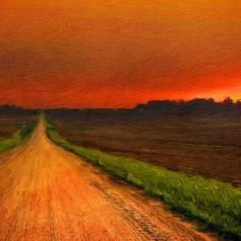 Margaret J Rocha - Landscape Painted
