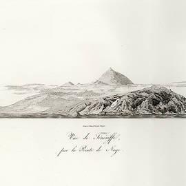 1804 View Of Tenerife by J B Bory de Saint Vincent
