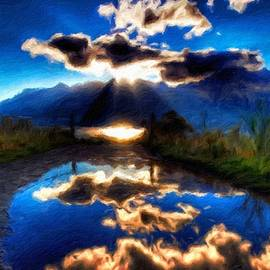 Margaret J Rocha - Nature Painted Landscape