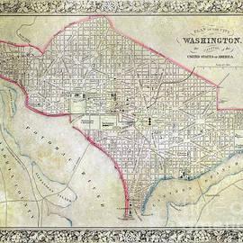 Jon Neidert - 1861 Map of Washington DC