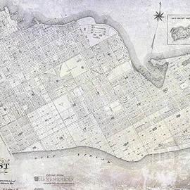 1906 Key West Map - Jon Neidert