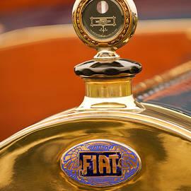 1913 Fiat Type 56 7 Passenger Touring Hood Ornament by Jill Reger