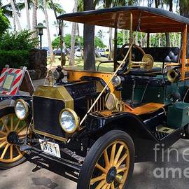 1916 Ford Model T Front End by Mary Deal