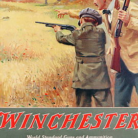 1918 Winchester Repeating Arms And Ammunition Calendar - George Brehm