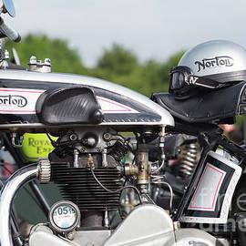 1928 Norton CS1 and Helmet - Tim Gainey