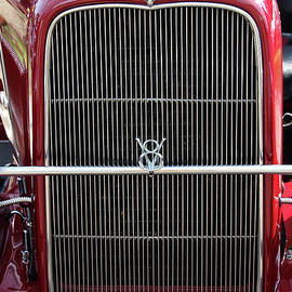 Gary Gingrich Galleries - 1930 Red Ford Model A-Grill-8885