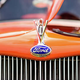 1930s Ford Coupe Grille and Hood Ornament - Jon Woodhams
