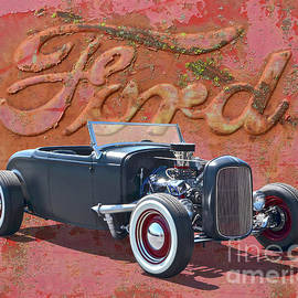 1932 Ford Hot Rod Roadster by Ron Long
