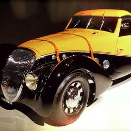Paulette B Wright - 1936 Peugeot 402 Darl