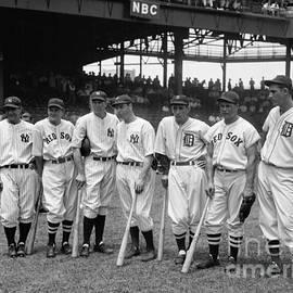 1937 All Star Baseball Players - Jon Neidert