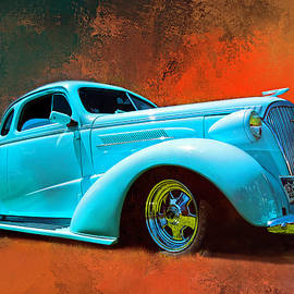 1937 Chevy Coupe Street Rod by John Bartelt