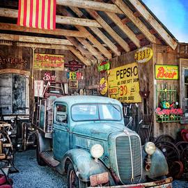 1937 Ford Pickup Truck by Debra and Dave Vanderlaan