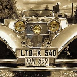 1937 Mercedes 540K Roadster Two by Thom Zehrfeld