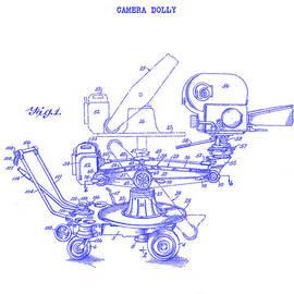 Jon Neidert - 1940 Camera Dolly Patent  Blueprint