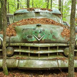 1950 Green Cadillac by Jurgen Lorenzen
