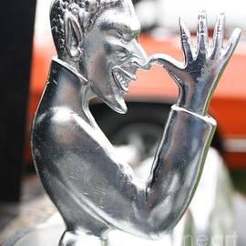 John Telfer - 1951 Mg Speed Demon Hood Ornament