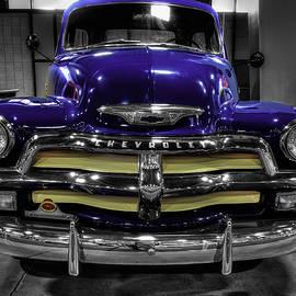 John Straton - 1954 Chevrolet 3100 blue