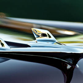 1956 Chevy Belair Hood Ornament Flying 1 by Jani Freimann