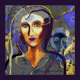 Irmgard Schoendorf Welch - 1956 -   Woman  Blue 2017
