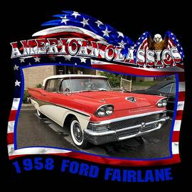 Mobile Event Photo Car Show Photography - 1958 Ford Fairlane
