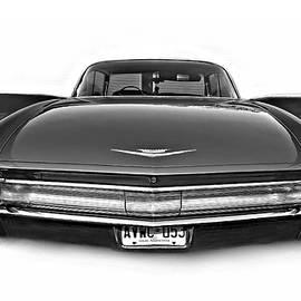 Steve Harrington - 1960 Cadillac - When Chrome Ruled bw