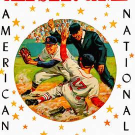 1961 Baseball All Star Game Program by John Farr
