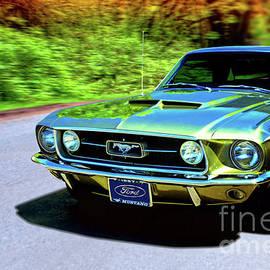 1967 Ford Mustang by Thomas Burtney