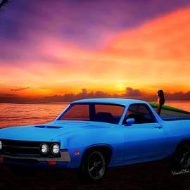 1970 Ranchero Dominican Beach Sunrise