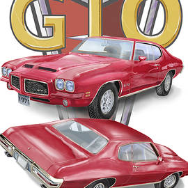 1971 Pontiac Gto by Thomas J Herring