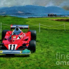 Niki Lauda 1997 Ferrari 312t2 Pebble Beach by Blake Richards
