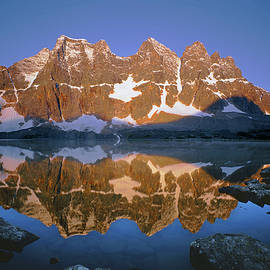 1m3855 B Eastern Ramparts Sunrise Reflect by Ed  Cooper Photography