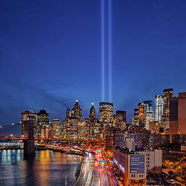 Susan Candelario - 911 Tribute In Light In NYC