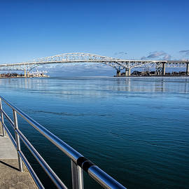 LeeAnn McLaneGoetz McLaneGoetzStudioLLCcom - America Blue Water Bridge Michigan