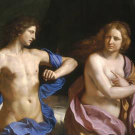 Amnon and Tamar - Guercino