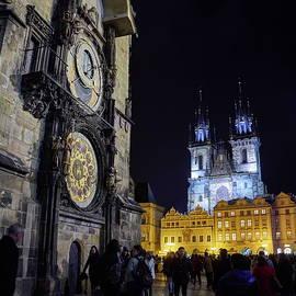 Jouko Lehto - Astronomical Clock. Stare Mesto. Prague spring 2017