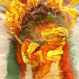 Alexander Vinogradov - Autumn Still Life With Sunflower.