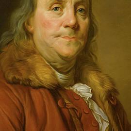 Benjamin Franklin - Joseph Siffred Duplessis