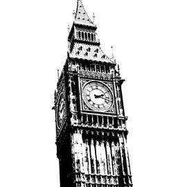 Big Ben London Portrait by Toula Mavridou-Messer