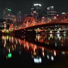 Black Night in Pittsburgh by Frozen in Time Fine Art Photography