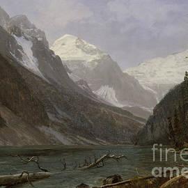 Canadian Rockies  Lake Louise - Albert Bierstadt