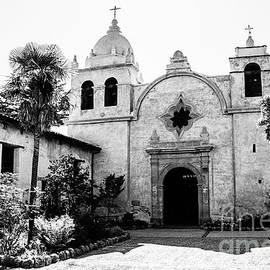 Carmel Mission - BW by Scott Pellegrin
