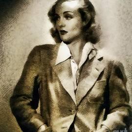 Carole Lombard, Vintage Actress by John Springfield - John Springfield