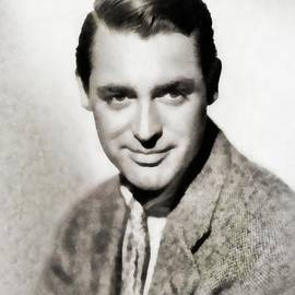 John Springfield - Cary Grant, Vintage Actor by JS